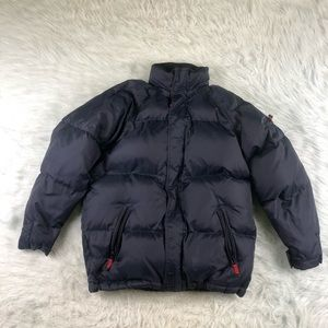 GAP Kids Goose Down Puffer Jacket Boys XL 12 Blue